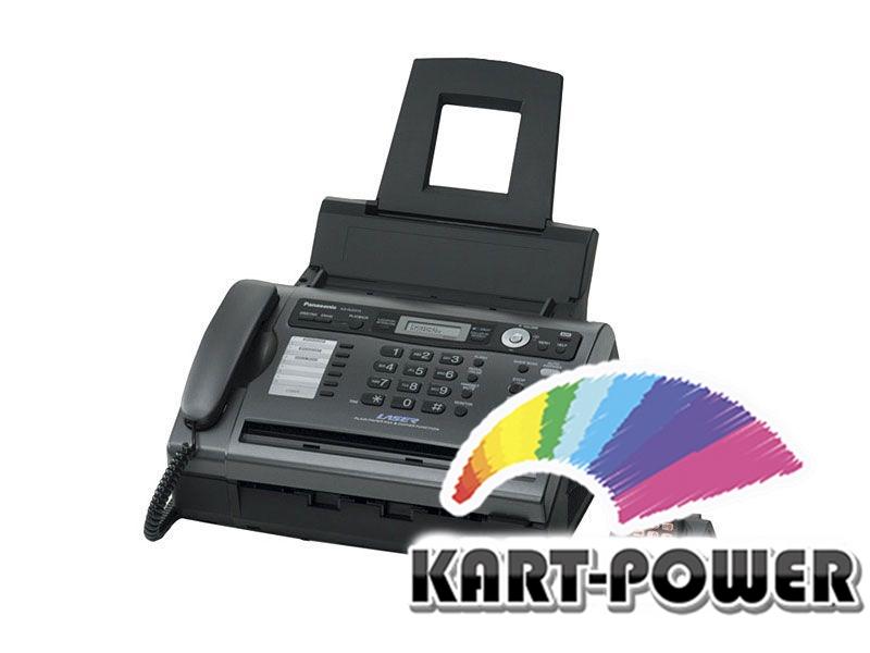 Panasonic kx-fat411a заправка инструкция